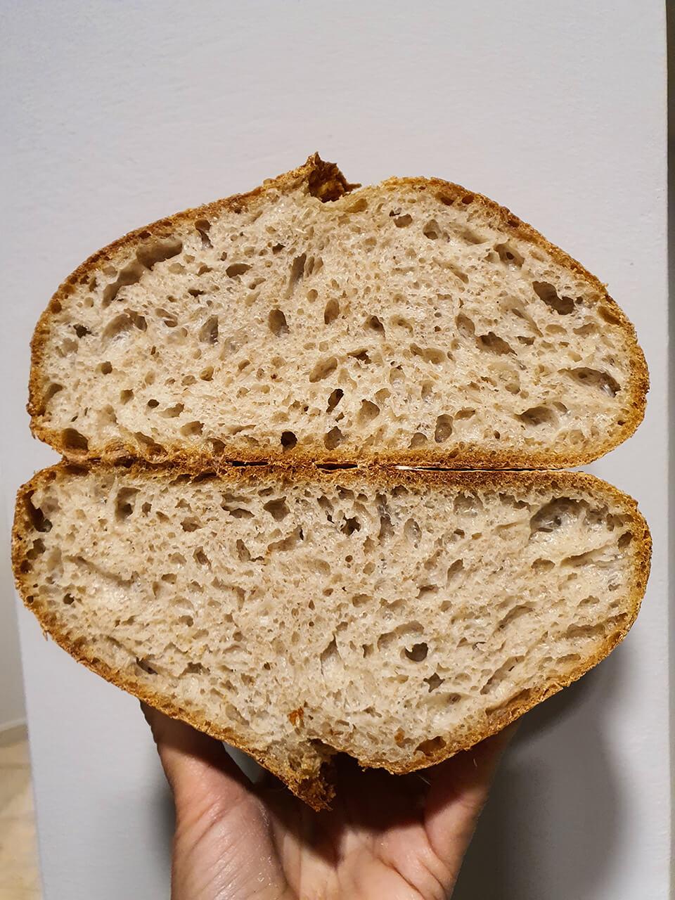 Hydratovaný pšeničný chlieb