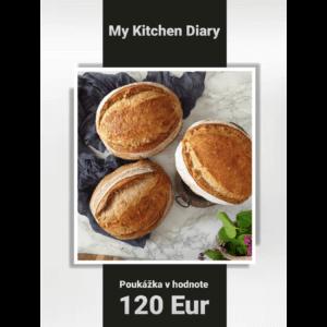 Poukážka v hodnote 120 Eur