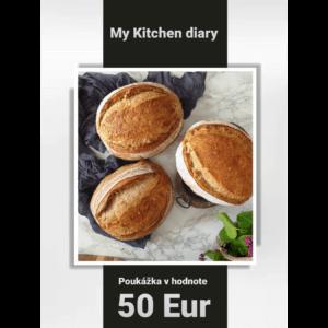 Poukážka v hodnote 50 Eur