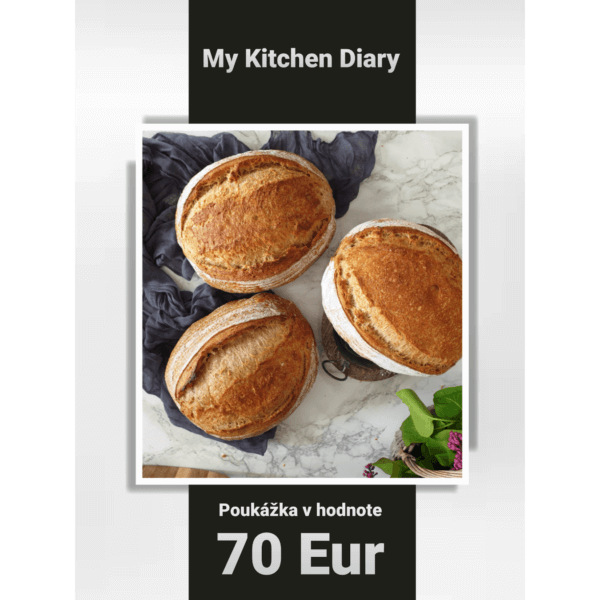 Poukážka v hodnote 70 Eur