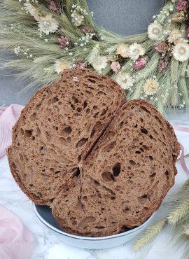 Pšeničný chlieb s tmavým sladom