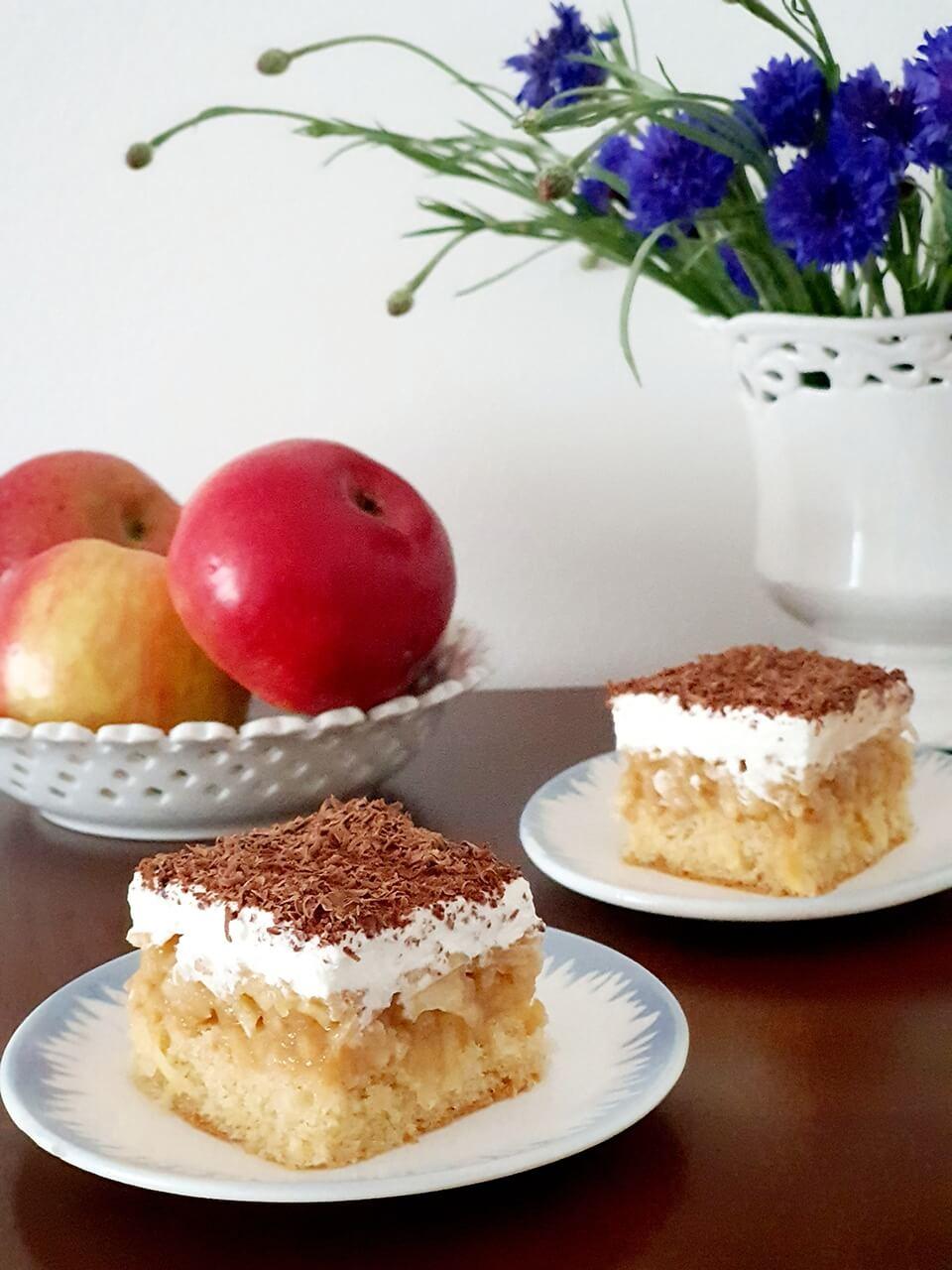 Evičkin jablkový koláčik
