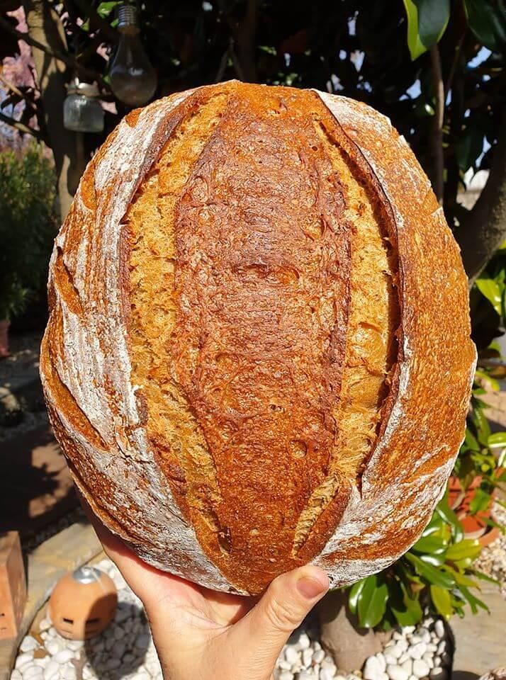 Pšeničný semiačkový chlieb