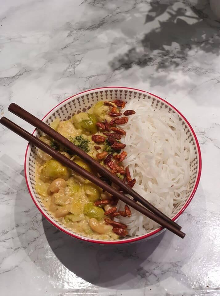 Zeleninové Curry s kešu