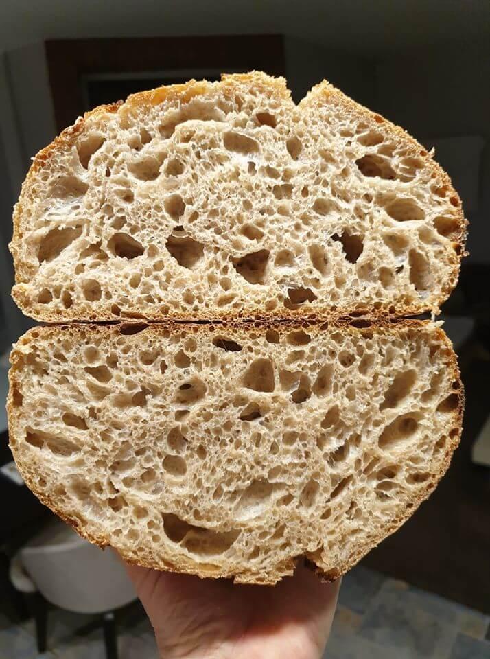 Špaldovo-pšeničný chlieb – recept s rozkvasom aj bez rozkvasu