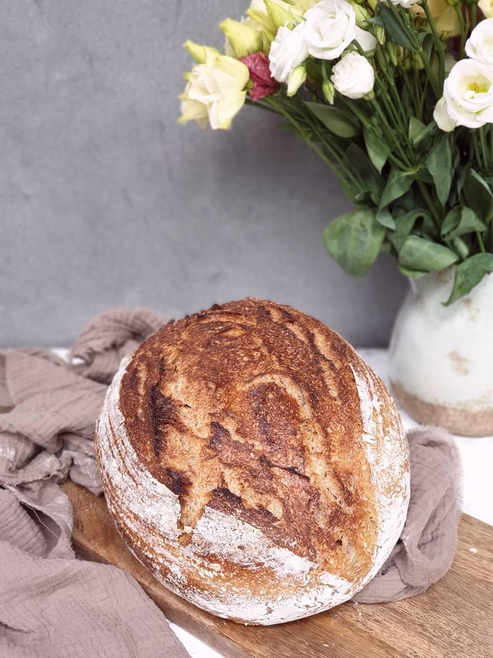 Pšenično špaldový chlieb z múk Molino Cosma