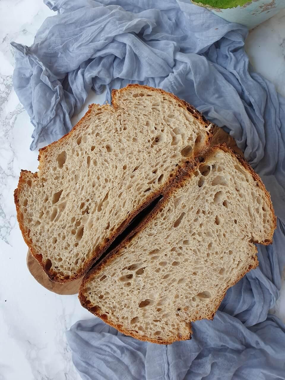 Kamutový chlieb