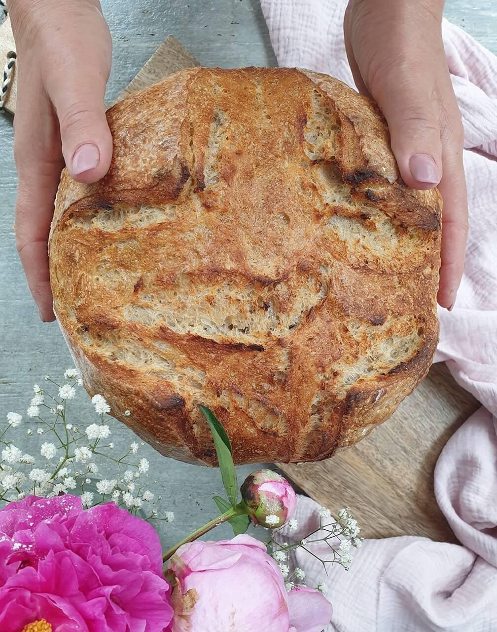 Pšeničný chlieb s Kamutom