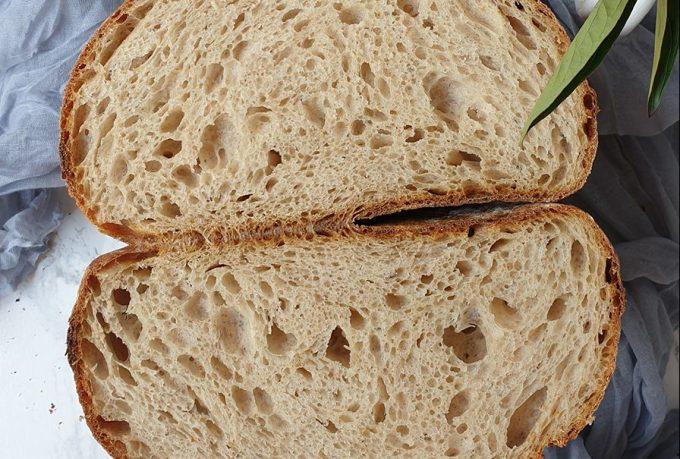 Semolinový chlieb