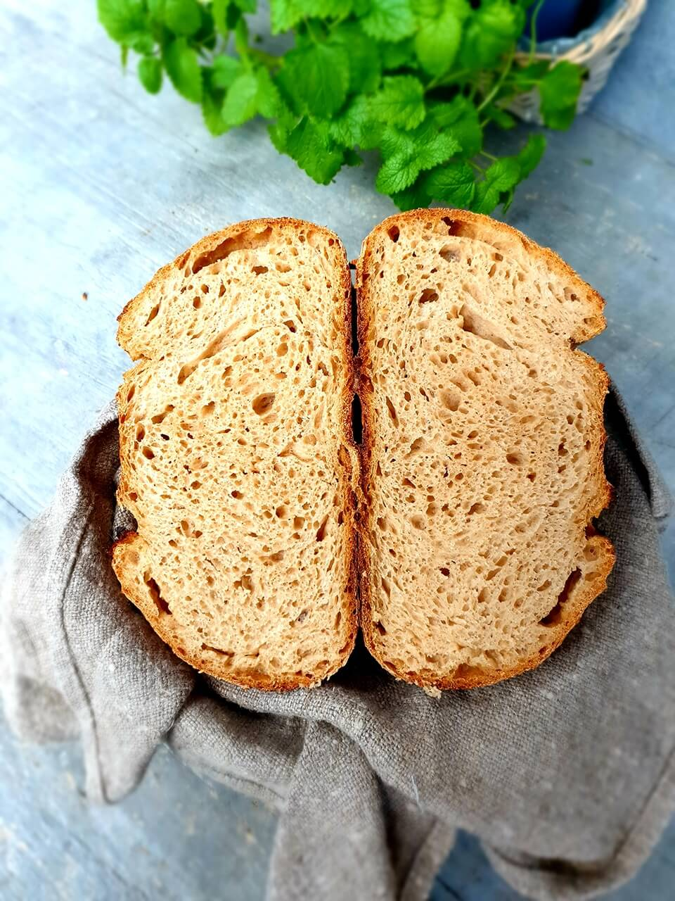 Chlieb Kamutovo - Semolinový