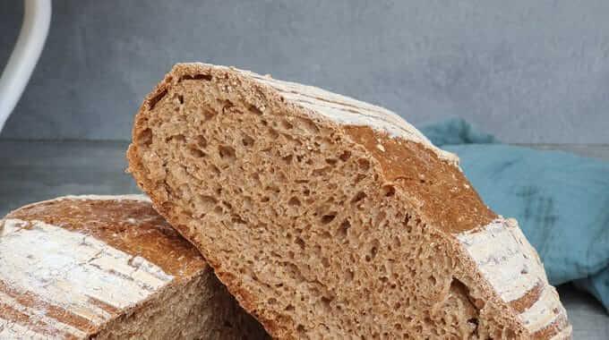 100% celozrný Kamutový chlieb