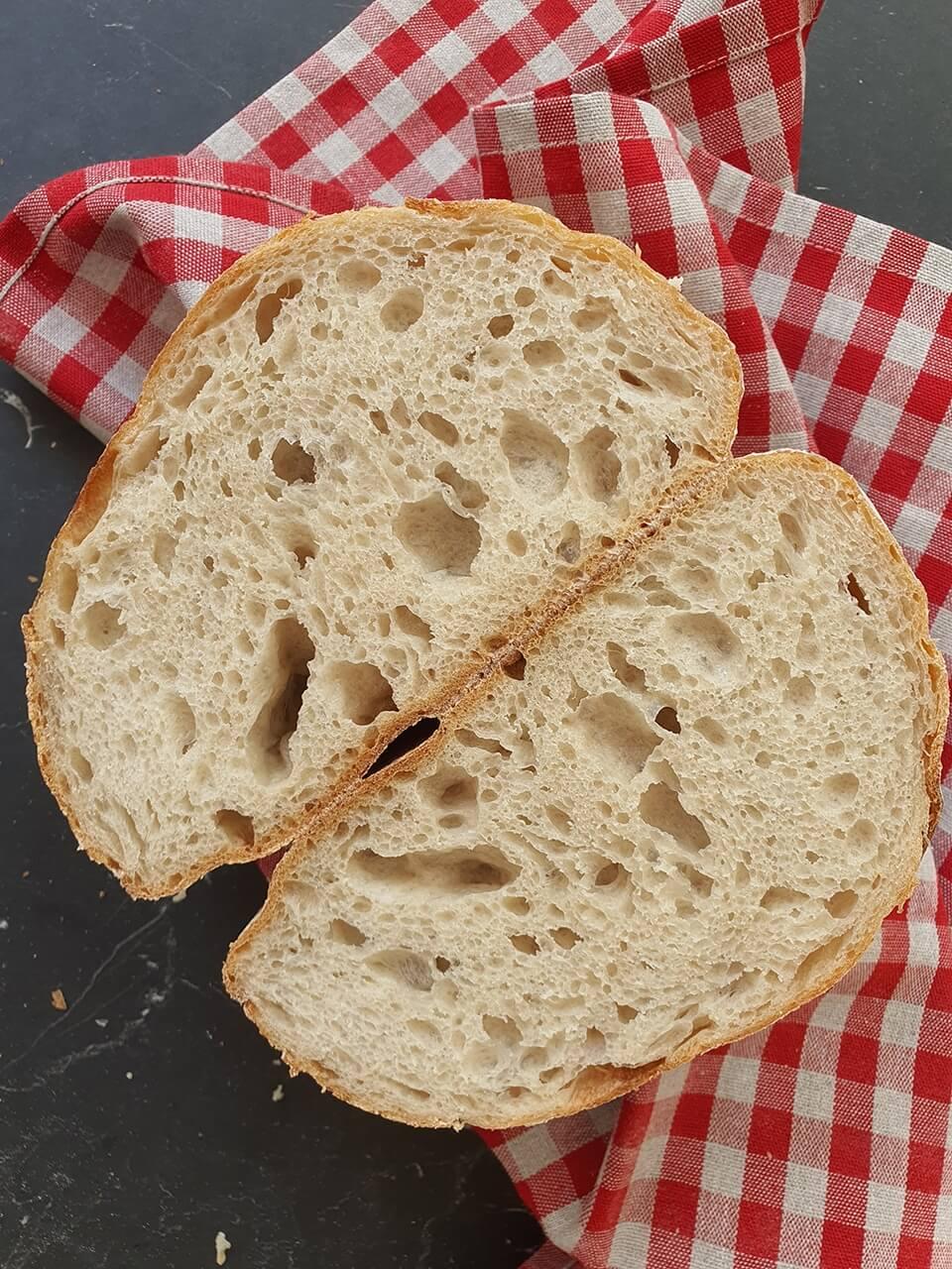 Kamutovo-pšeničný chlieb