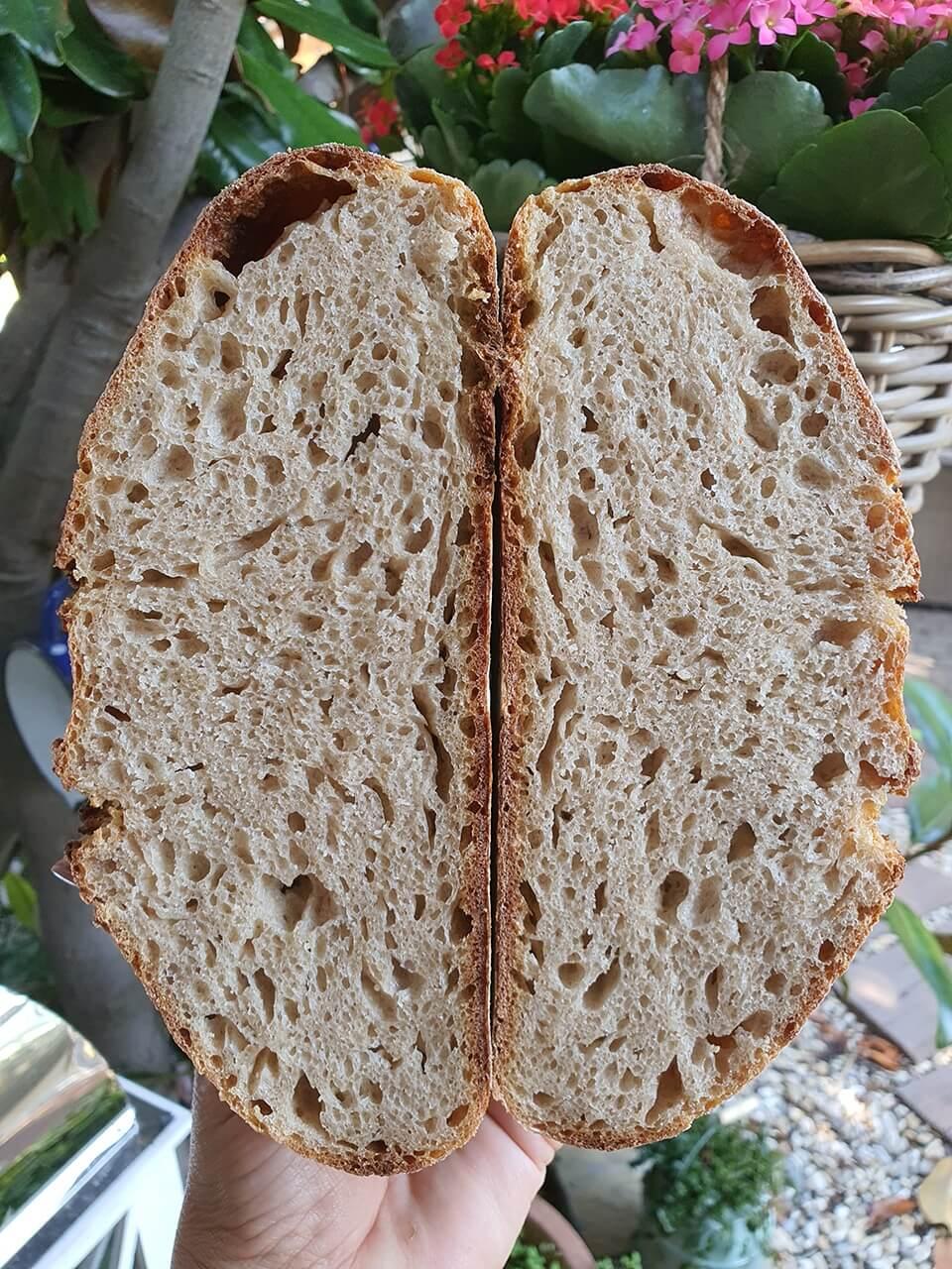 Kamutový celozrnný chlieb s Timiliou