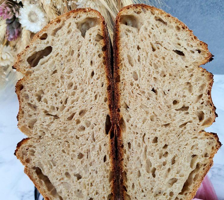Kamutový chlieb s pridaním Prastarej múky Timilia