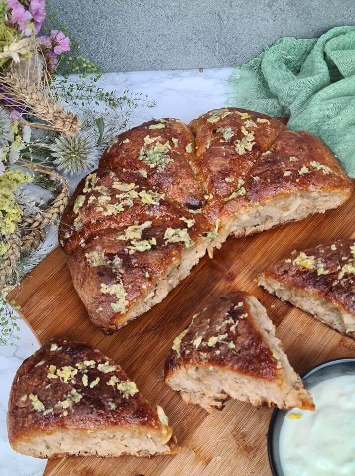 Cesnakový chlebový osúch