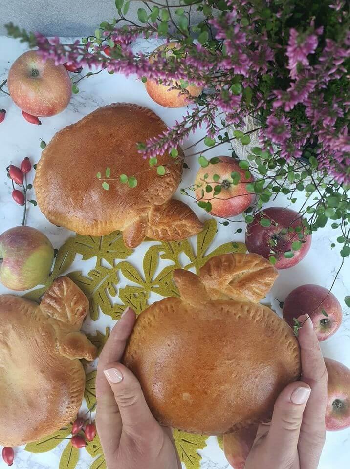 Karamelové jabĺčka